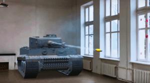 Воочию увидеть бой между советским танком Т-44-100 (Р) и немецким «Тигром»
