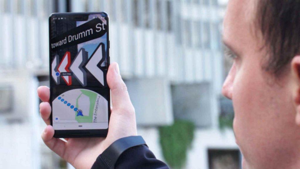 Google ведёт активное тестирование своего AR-навигатора