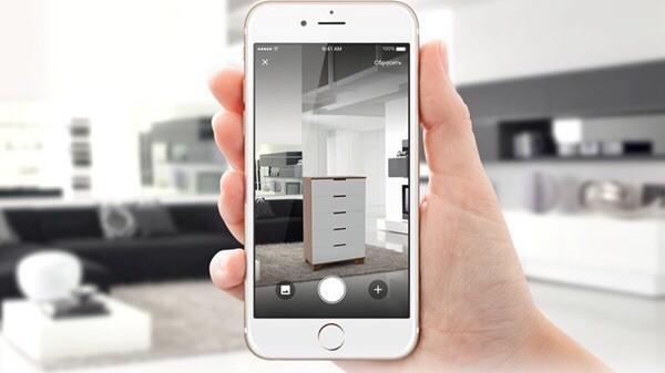 Мобильное приложение Leroy Merlin поможет не только совершить покупку, но и посмотреть, как будут смотреться вещи в вашем пространстве.