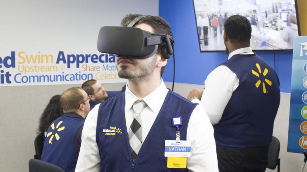 Крупнейшая в мире торговая сеть Walmart решила использовать виртуальную реальность для обучения новых сотрудников