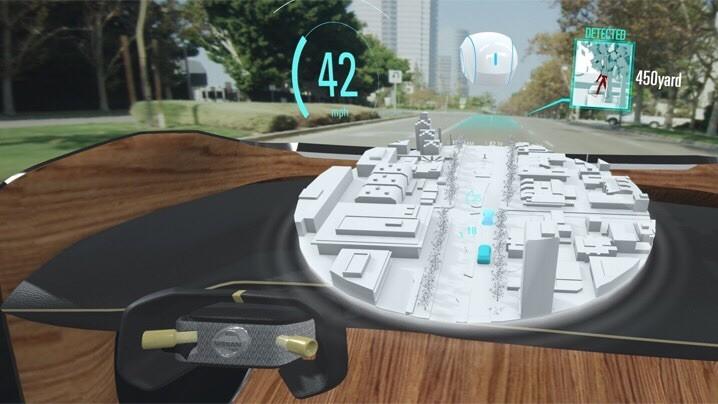 Система Nissan I2V наделит водителей сверхспособностями