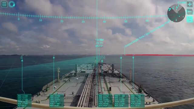 Танкеры теперь имеют AR-навигацию