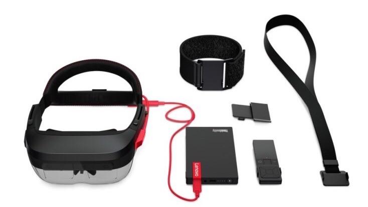 AR-очки ThinkReality A6 — ответ Lenovo на Microsoft HoloLens