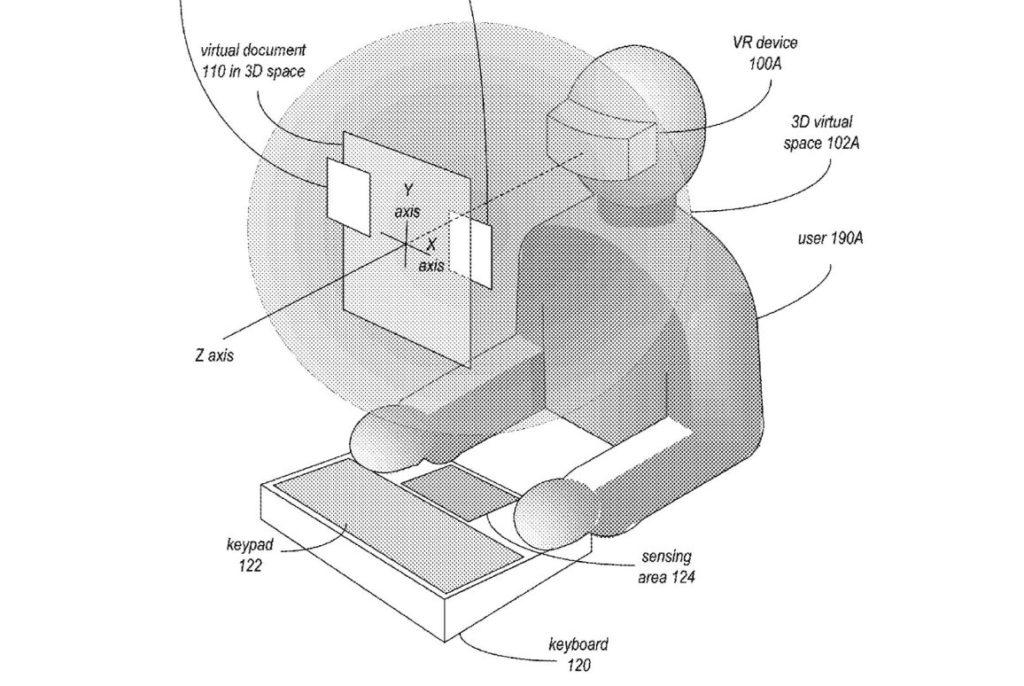 Apple патентует виртуальную реальность для работы с секретными документами