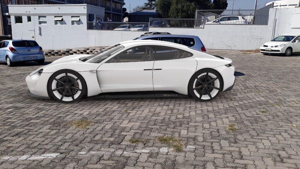 Испытать автомобиль Porsche в дополненной реальности