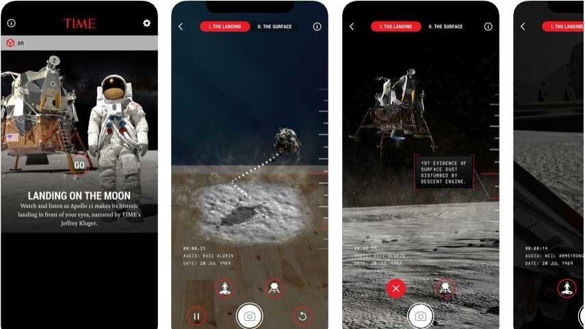 TIME представил приложение в дополненной и виртуальной реальности