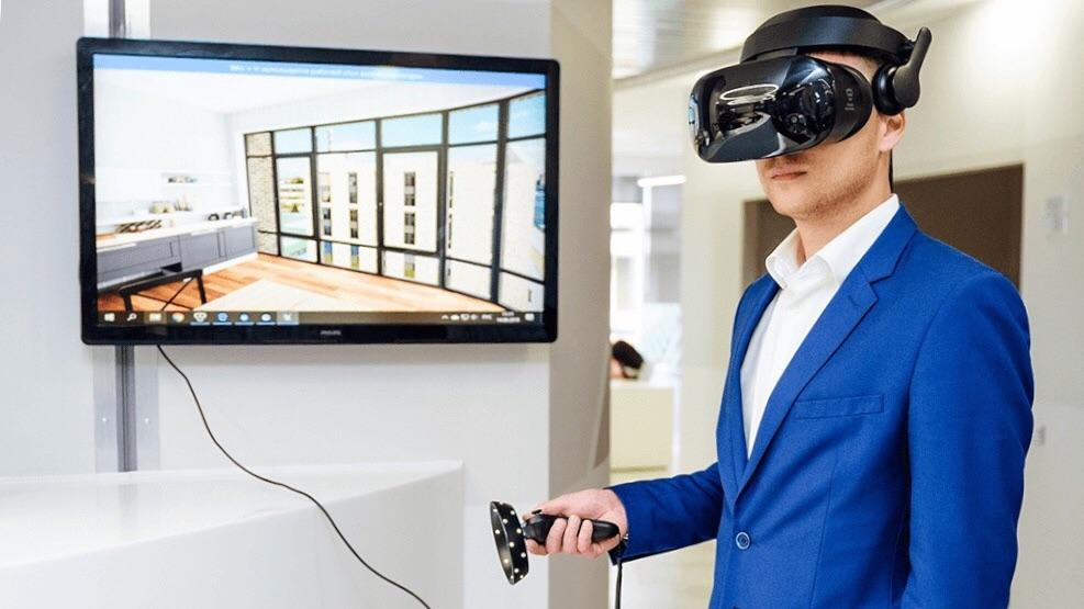 Открытие интерактивного VR-офиса продаж для группы «Эталон»