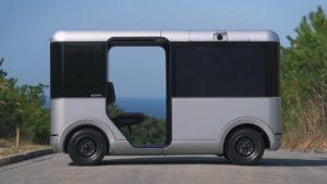 Беспилотный микроавтобус от Sony и Yamaha