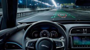 Трёхмерный проекционный дисплей в автомобиле
