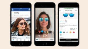 Facebook внедряет рекламу с дополненной реальностью