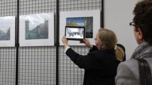 Фотовыставка в дополненной реальности в питерской библиотеки