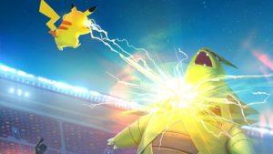 В Pokémon GO можно будет сражаться с игроками со всего мира