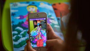 Раскраска с дополненной реальностью для девчонок
