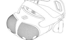 VR-шлем, похожий на глаза мухи